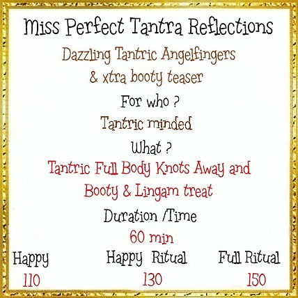 Menu Miss Perfect Tantra Reflections 3 c