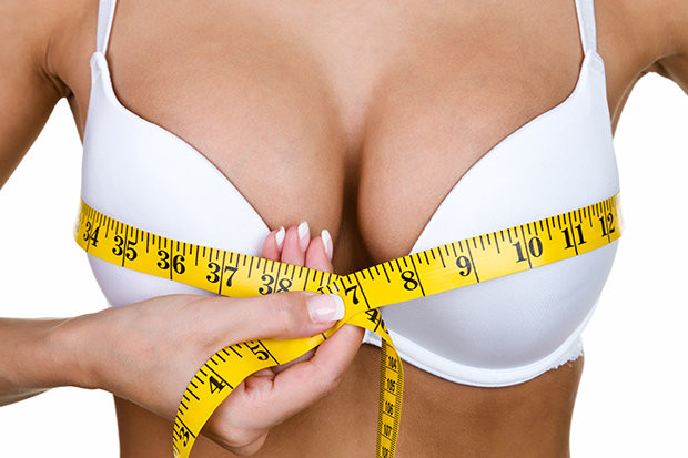 Boob size