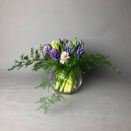 Fragrant Hyacinth Fish Bowl