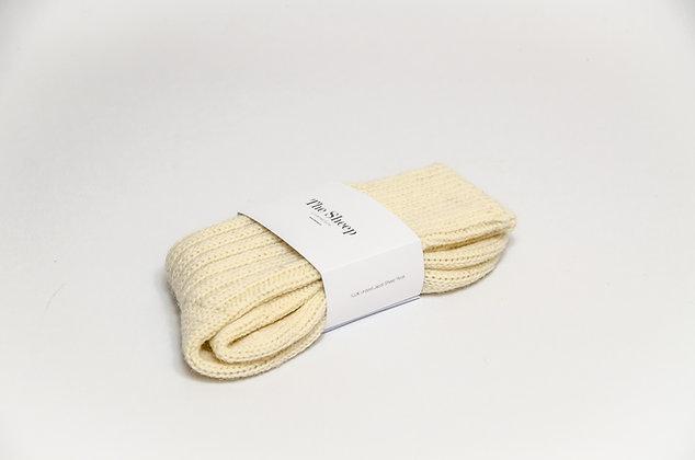 Jacob Wool Socks Cream