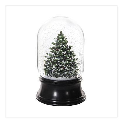 Snow Globe Natural Tree