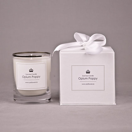 Opium Poppy Scented Candle