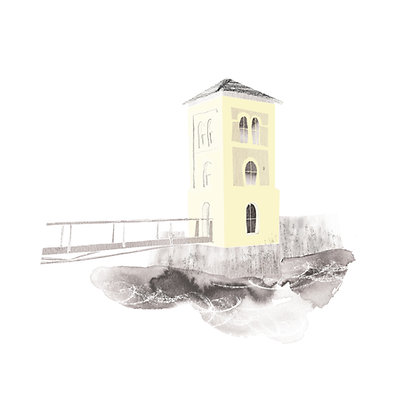 The Fisheries Watchtower by © Siobhan McNutt
