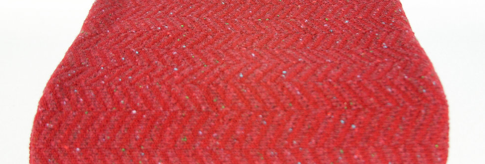 Red Lambswool Throw