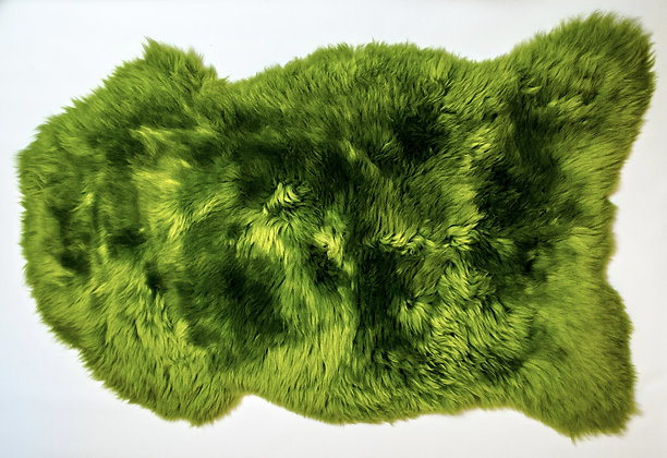 Irish Sheepskin Rug - Green