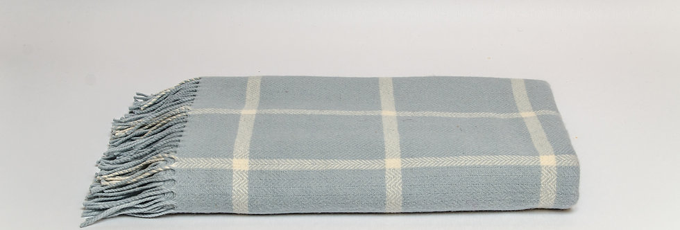 Parma Windowpane Throw by Foxford