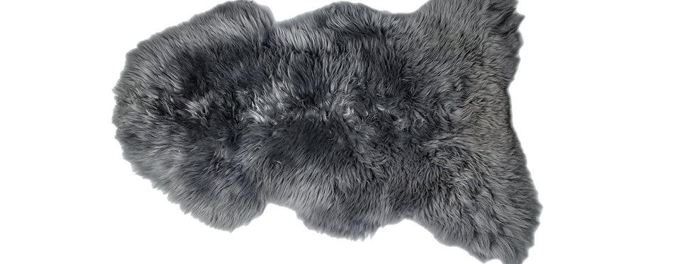 Irish Sheepskin Rug - Grey