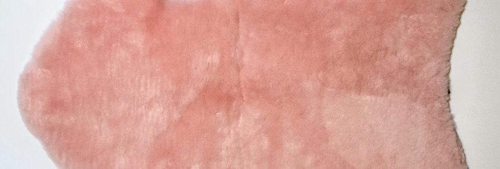Irish Lambskin Rug - Pink