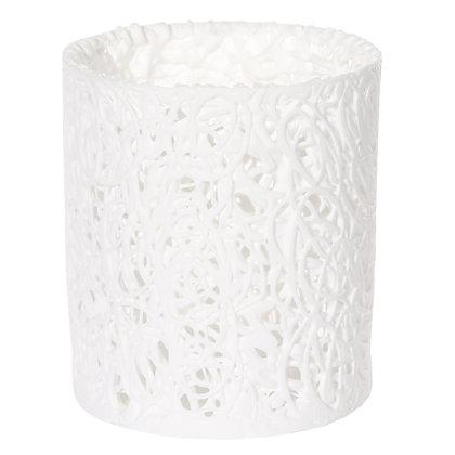 White Porcelain Spaghetti Night Light S