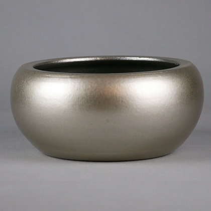 Platinum Ceramic Bowl D35cm x H13cm