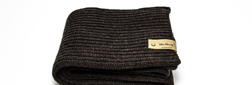 Ammazone Ribbed Merino Scarf by Inis Meáin
