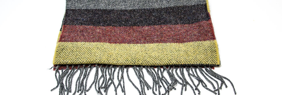 Fall Thick Stripe Scarf by Foxford
