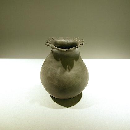 Cloonmore Smoke Fired Vase