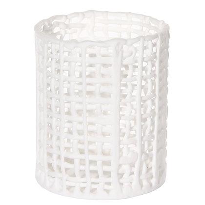 White Porcelain Mesh Night Light S