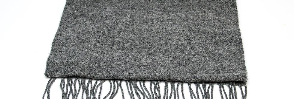 Solid Grey Scarf by Foxford