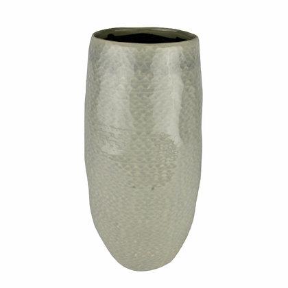 Grey Guinea Vase