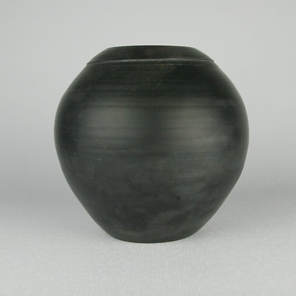 Cloonmore Smoke Fired Ball Vase
