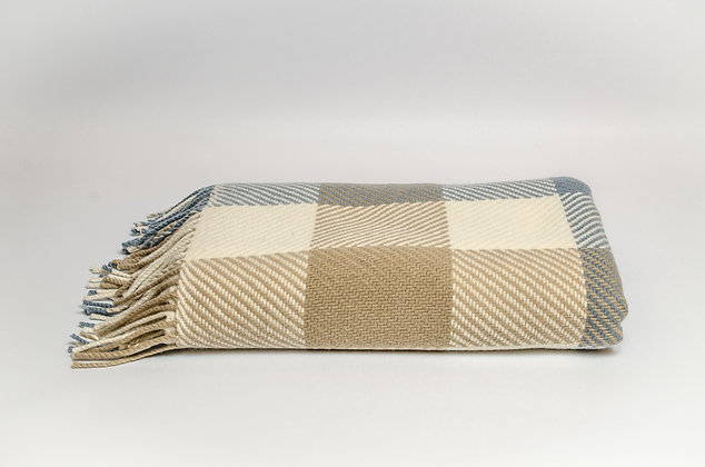 Parma Dublin Check Throw by Foxford