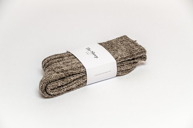 Jacob Wool Socks Grey