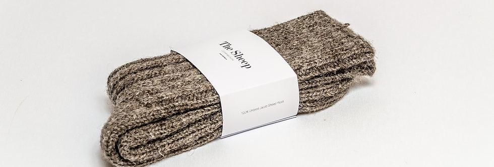 Jacob Wool Socks Grey
