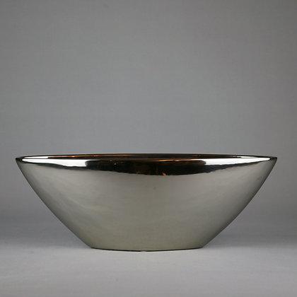 Sliver Ceramic Planter L45cm x H16cm x D15cm