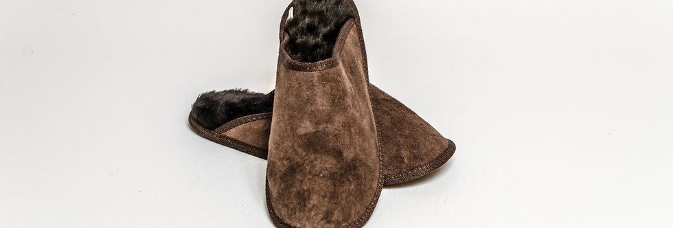 Sheepskin Loafers Brown