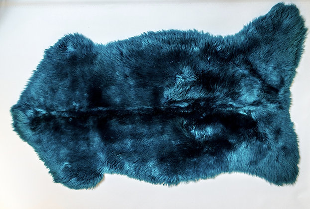 Irish Sheepskin Rug - Teal