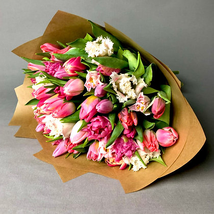 Pretty in Pink Tulip Mix