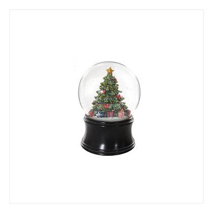 Snow Globe Decorated Tree