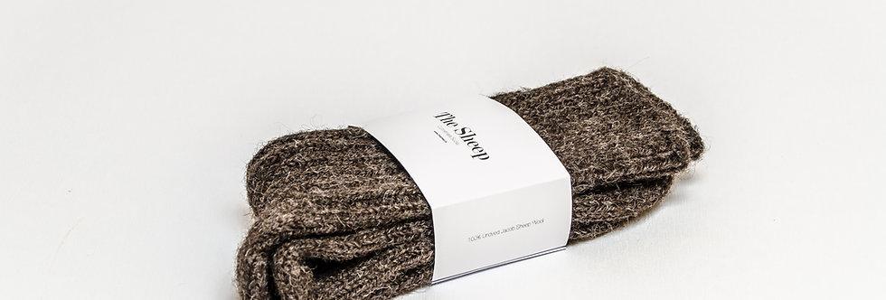 Jacob Wool Socks Light Brown