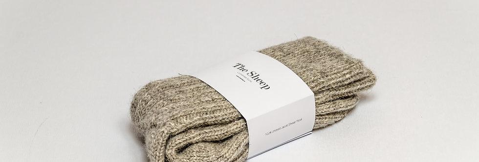 Jacob Wool Socks Light Grey