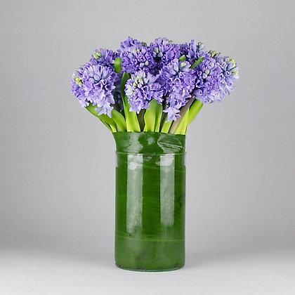 Vase of Bule Hyacinths