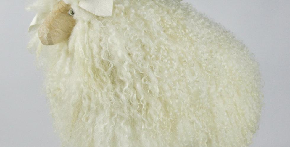 The Sheep - Atlantic Collection - Shaggy White Rear Breed - Medium
