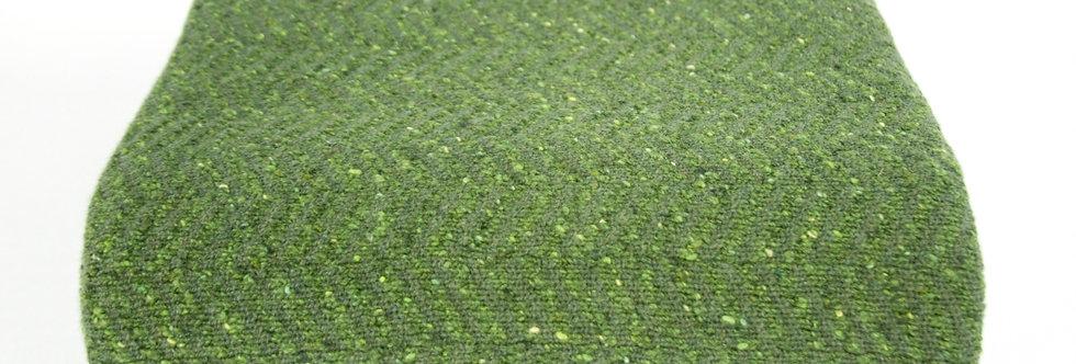 Green Lambswool Throw