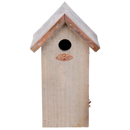 Bird House Copper Roof - Great Tit