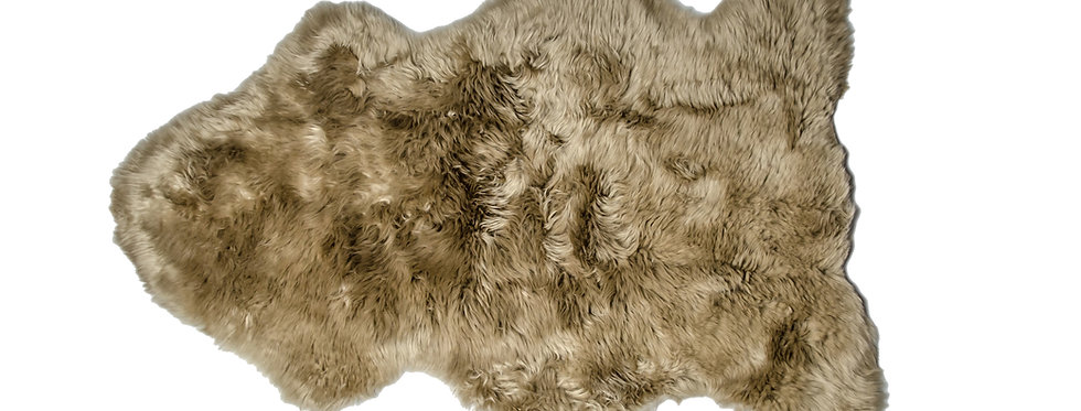 Irish Sheepskin Rug - Taupe