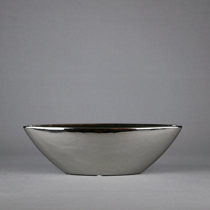 Sliver Ceramic Planter L28cm x H12cm x D12cm