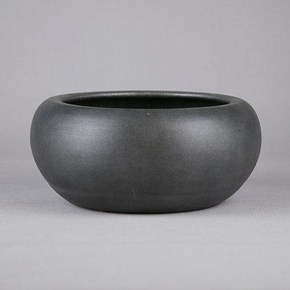 Black Ceramic Bowl D29cm x H12cm