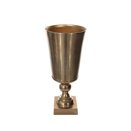 Aluminium Vase Gold