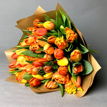 Juicy Oranges Tulip Mix