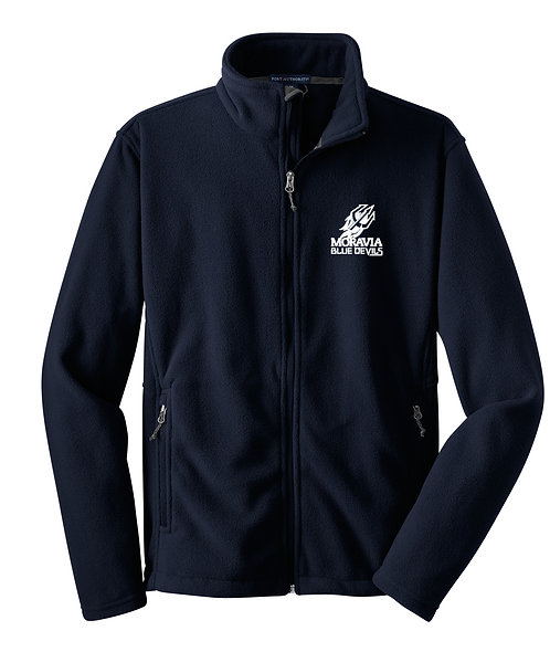 Blue Devils Youth Full Zip Fleece Jacket