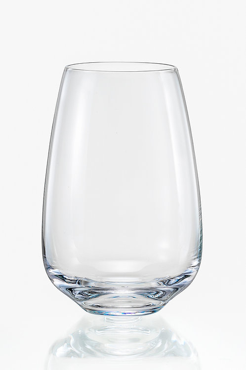 Giselle Stemless Wine Glass Set of 6 450ML