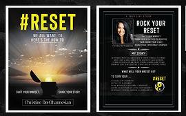 #RESET by Christine DerOhannesian