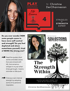 4. THE STRENGTH WITHIN by Christine DerO