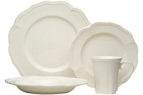 Classic White 16Pc Dinner Set