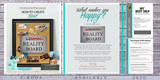 Your Reality Board  by Christine DerOhan