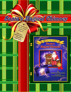 Santa's Magical Chimney by Christine Der