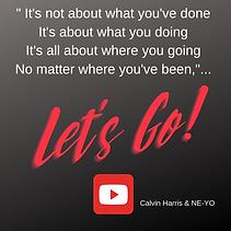Christine DerOhannesian post: Let's Go!.