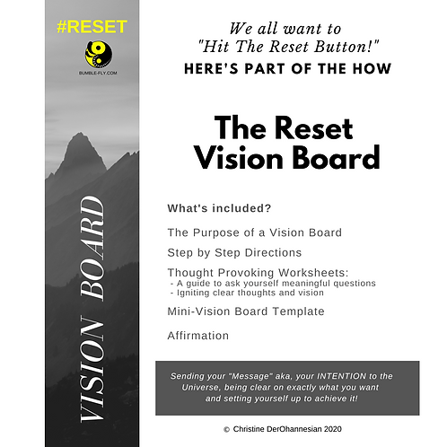 "The ""Reset"" Vision Board Guide"