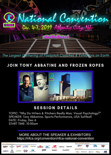 Tony Abbatine to speak at NFCA National Convention 2019